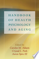Handbook Of Health Psychology And Aging