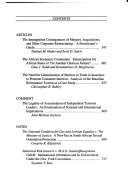 The North Carolina journal of international law and commercial regilation