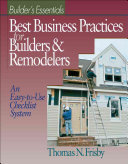 Best Business Practices for Builders and Remodelers