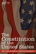 Pdf The Constitution of the United States and Other Historical American Documents