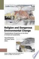 Religion and Dangerous Environmental Change
