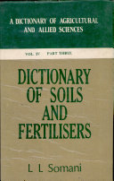 Dictionary of plant sciences  including horticulture