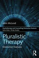 Pluralistic Therapy