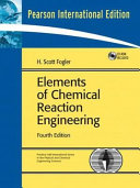 Elements of Chemical Reaction Engineering Book