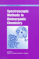 Spectroscopic Methods in Bioinorganic Chemistry