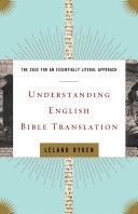 Understanding English Bible Translation Pdf/ePub eBook