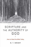 Scripture and the Authority of God Book