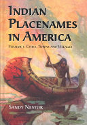 Indian Placenames in America  Cities  towns  and villages