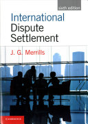 Cover of International Dispute Settlement