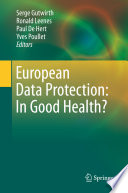 European Data Protection  In Good Health