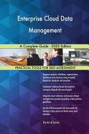 Enterprise Cloud Data Management A Complete Guide   2020 Edition