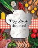 My Recipe Journal Book