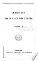 Chambers S Papers For The People Book PDF