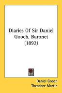 Diaries of Sir Daniel Gooch  Baronet  1892