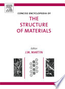 Concise Encyclopedia of the Structure of Materials