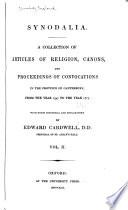 Synodalia Book
