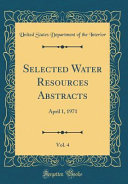 Selected Water Resources Abstracts, Vol. 4