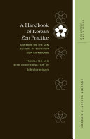 A Handbook of Korean Zen Practice