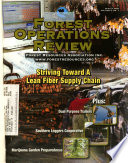 Forest Operations Review  , Volume 8