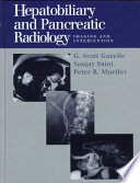 Hepatobiliary And Pancreatic Radiology Book PDF