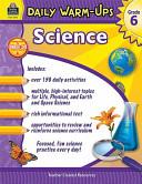 Daily Warm Ups  Science Grade 6