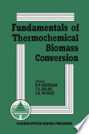 Fundamentals Of Thermochemical Biomass Conversion Book PDF