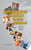 Mathematics Learning in Early Childhood