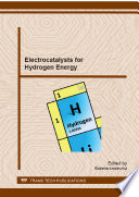 Electrocatalysts For Hydrogen Energy Book PDF