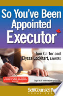 So You've Been Appointed Executor