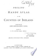 Philips  Handy Atlas of the Counties of Ireland with Consulting Index Book