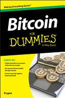 List of Dummies Bitcoin E-book