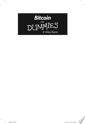 Download Bitcoin For Dummies Free Books - Dlebooks.net