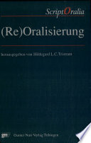 Re Oralisierung Book