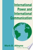 International Power and International Communication Book PDF