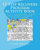 12 Step Recovery Program Activity Book