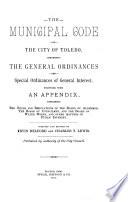 The Municipal Code of the City of Toledo