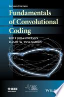 Fundamentals of Convolutional Coding
