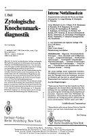 Zentralblatt Hämatologie-klinische Onkologie