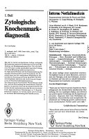 Zentralblatt H  matologie klinische Onkologie