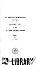 Civil Aeronautics Board Reports