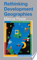 Rethinking Development Geographies Book