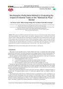 Neutrosophic Multicriteria Method for Evaluating the Impact of Informal Trade on the    Mariscal de Puyo    Market
