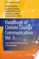 Handbook of Climate Change Communication  Vol  3