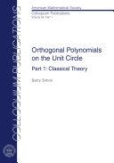 Orthogonal Polynomials on the Unit Circle