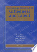 """International Handbook of Giftedness and Talent"" by K. A. Heller, F. J. Mönks, R. Subotnik, Robert J. Sternberg"