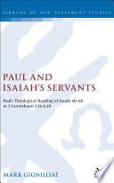 Paul And Isaiah S Servants