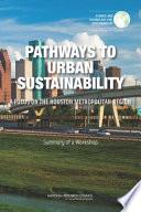 Pathways to Urban Sustainability