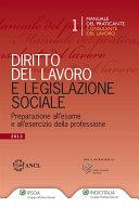 Diritto del lavoro e legislazione sociale