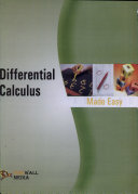 Differential Calculus Made Easy