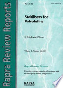 Stabilisers for Polyolefins